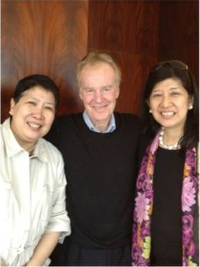 2012 </br> Meeting with Dr. Peter Senge